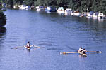 Coxed clinker pairs race