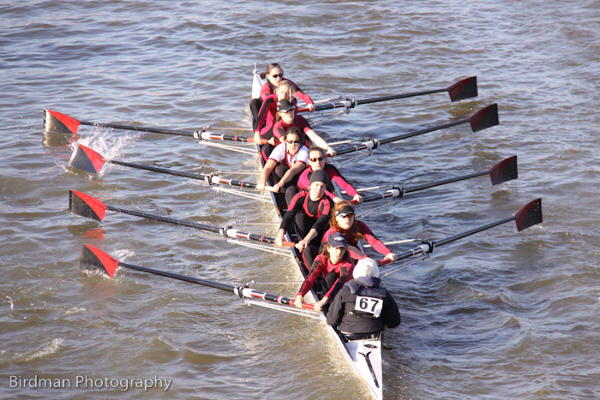 Fastest women - Vesta Rowing Club (Ansell)