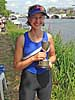 Elli Kirk -WIM2 single sculls winner