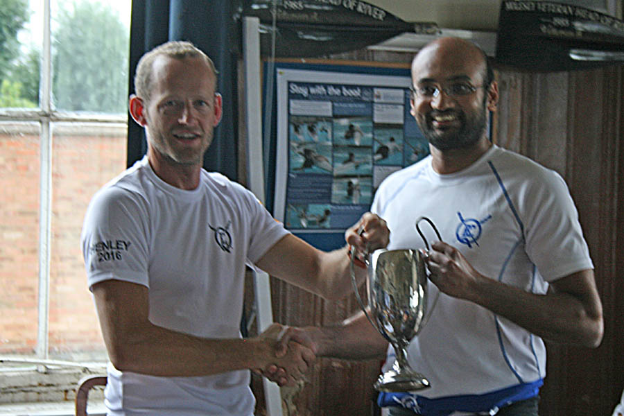 Mike Ewing - 2016 Club Sculling Champion