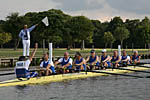 Masters G 8+ on the start