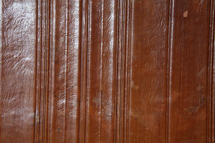 """Wood panelling"" wallpaper"