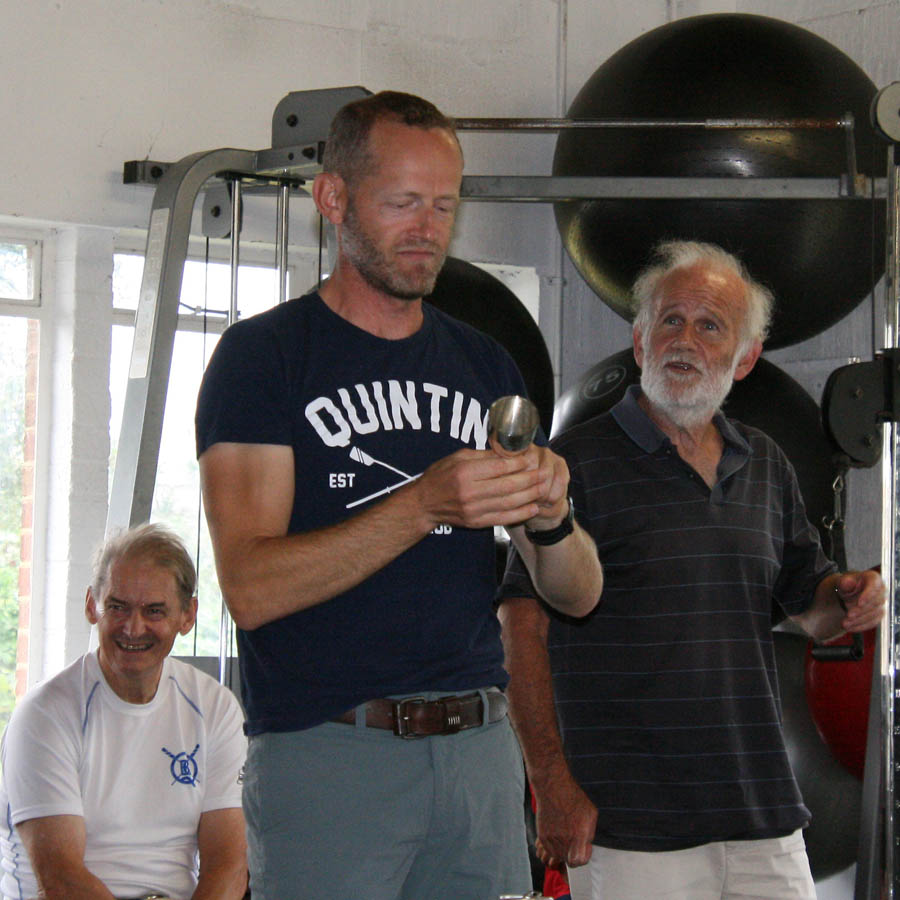 Mark Chatwin - 2019 Club Sculling Champion